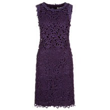 Buy Kaliko Floating Bodice Dress, Dark Purple Online at johnlewis.com