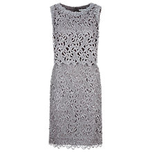 Buy Kaliko Floating Bodice Dress, Grey Online at johnlewis.com