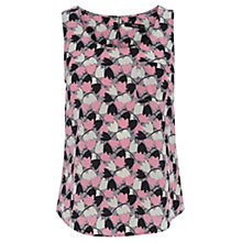 Buy Oasis Twirling Tulips Vest Top, Multi Online at johnlewis.com