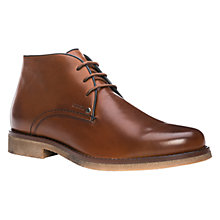Buy Geox Claudio Leather Chukka Boots, Cognac Online at johnlewis.com