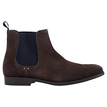 Buy Geox Journey Suede Chelsea Boots, Mud Online at johnlewis.com