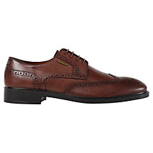 Buy Geox Loris ABX Waterproof Leather Brogue Derby Shoes Online at johnlewis.com