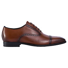 Buy Geox New Life Toe Cap Oxford Shoes, Cognac Online at johnlewis.com