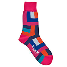 Buy Thomas Pink Holt Block Socks Online at johnlewis.com