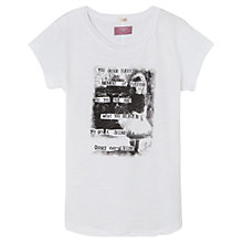Buy Mango Kids Girls' Graphic Print T-Shirt Online at johnlewis.com