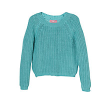 Buy Mango Kids Girls' Chunky Knit Jumper Online at johnlewis.com