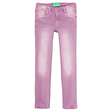 Buy Mango Kids Girls' Skinny Denim Jeans, Mauve Online at johnlewis.com