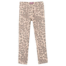 Buy Mango Kids Girls' Leopard Print Leggings Online at johnlewis.com