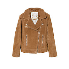 Buy Mango Kids Girls' Peccary Biker Jacket Online at johnlewis.com