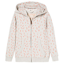 Buy Mango Kids Girls' Feather Print Hoodie Online at johnlewis.com
