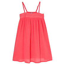 Buy Mango Kids Embroidery Ruched Dress Online at johnlewis.com