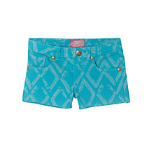 Buy Mango Kids Ikat Denim Shorts Online at johnlewis.com