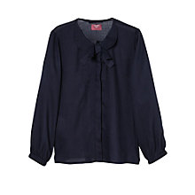 Buy Mango Kids Girls' Bow Blouse Online at johnlewis.com