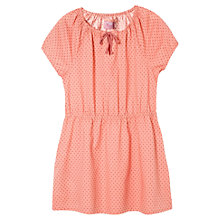 Buy Mango Kids Girls' Short Sleeve Polka Dot Dress Online at johnlewis.com