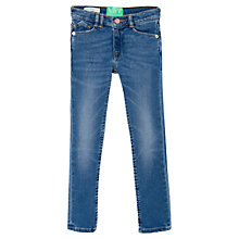 Buy Mango Kids Girls' Medium Wash Skinny Jeans, Denim Online at johnlewis.com