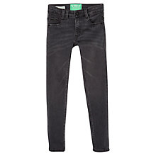 Buy Mango Kids Girls' Skinny Denimn Jeans, Grey Online at johnlewis.com