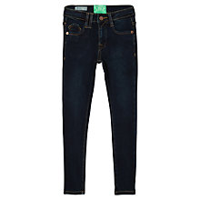 Buy Mango Kids Girls' Stretch Skinny Denim Jeans, Dark Blue Online at johnlewis.com