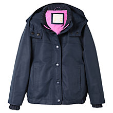 Buy Mango Kids Girls' Water-Repellent Hooded Jacket Online at johnlewis.com