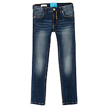 Buy Mango Kids Girls' Slim Fit Denim Jeans, Navy Online at johnlewis.com