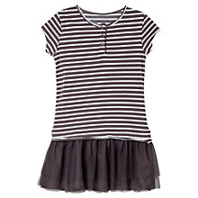 Buy Mango Kids Girls' Tulle Skirt Stripe Dress Online at johnlewis.com