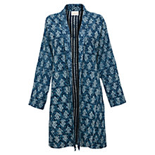 Buy East Booti Gudri Coat, Ink Online at johnlewis.com