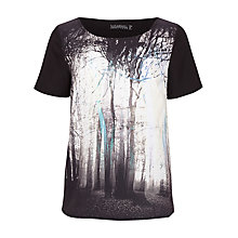 Buy Sugarhill Boutique Midnight Tree Top, Black Online at johnlewis.com