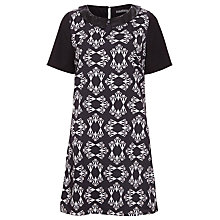 Buy Sugarhill Boutique Geo Heart Tunic Dress, Black/Off White Online at johnlewis.com