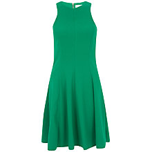 Buy Closet Flared Panel Dress, Green Online at johnlewis.com