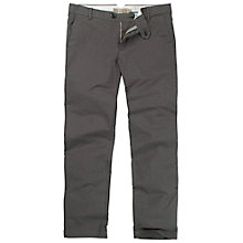 Buy Fat Face Clean Tapered Tweed Trousers, Charcoal Online at johnlewis.com