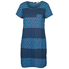 Buy Fat Face Tenby Morocco Geo Dress, Navy Online at johnlewis.com