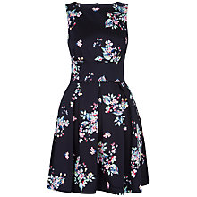 Buy Closet Cut Out Back Floral Dress, Multi Online at johnlewis.com