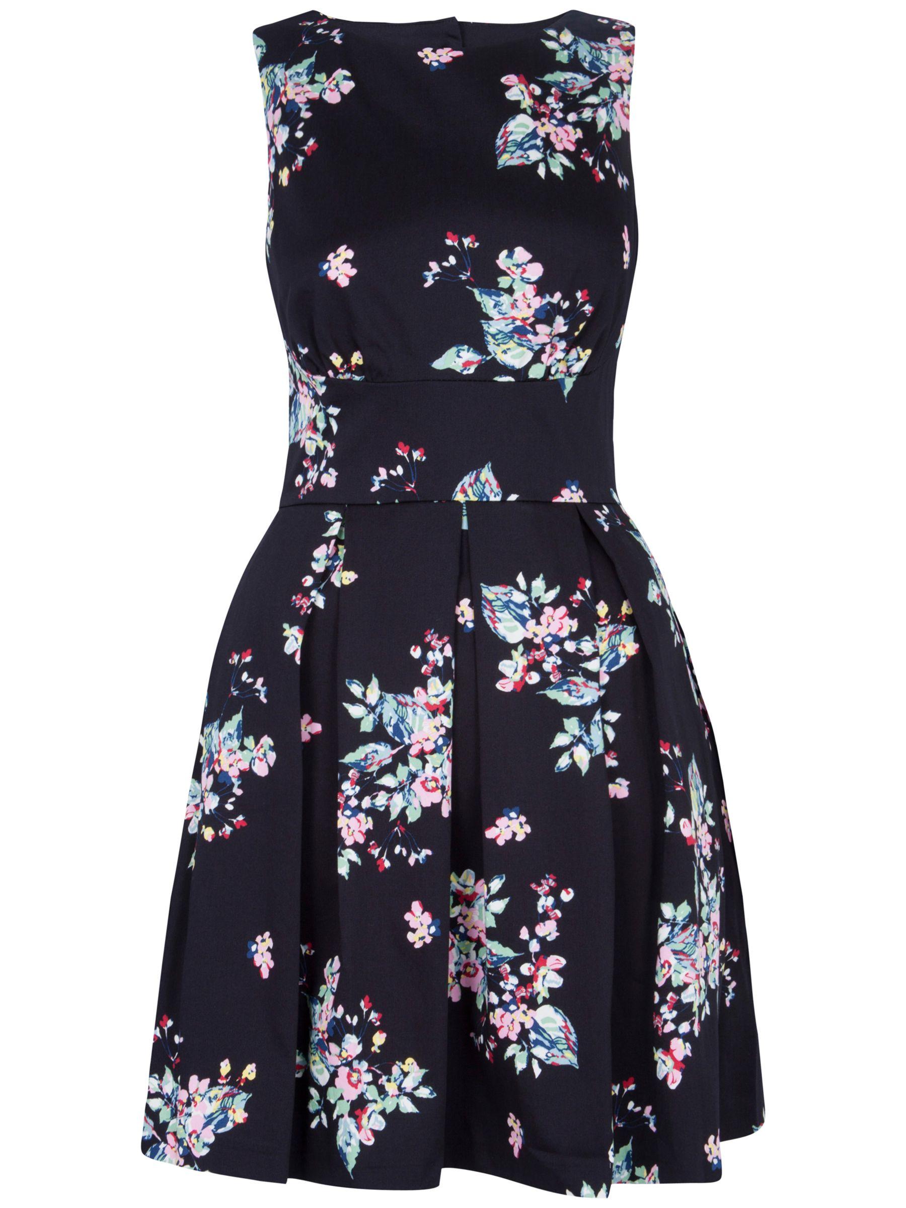 closet cut-out back floral dress multi, closet, cut-out, back, floral, dress, multi, 10 8 14 16 12, women, womens dresses, 1667696