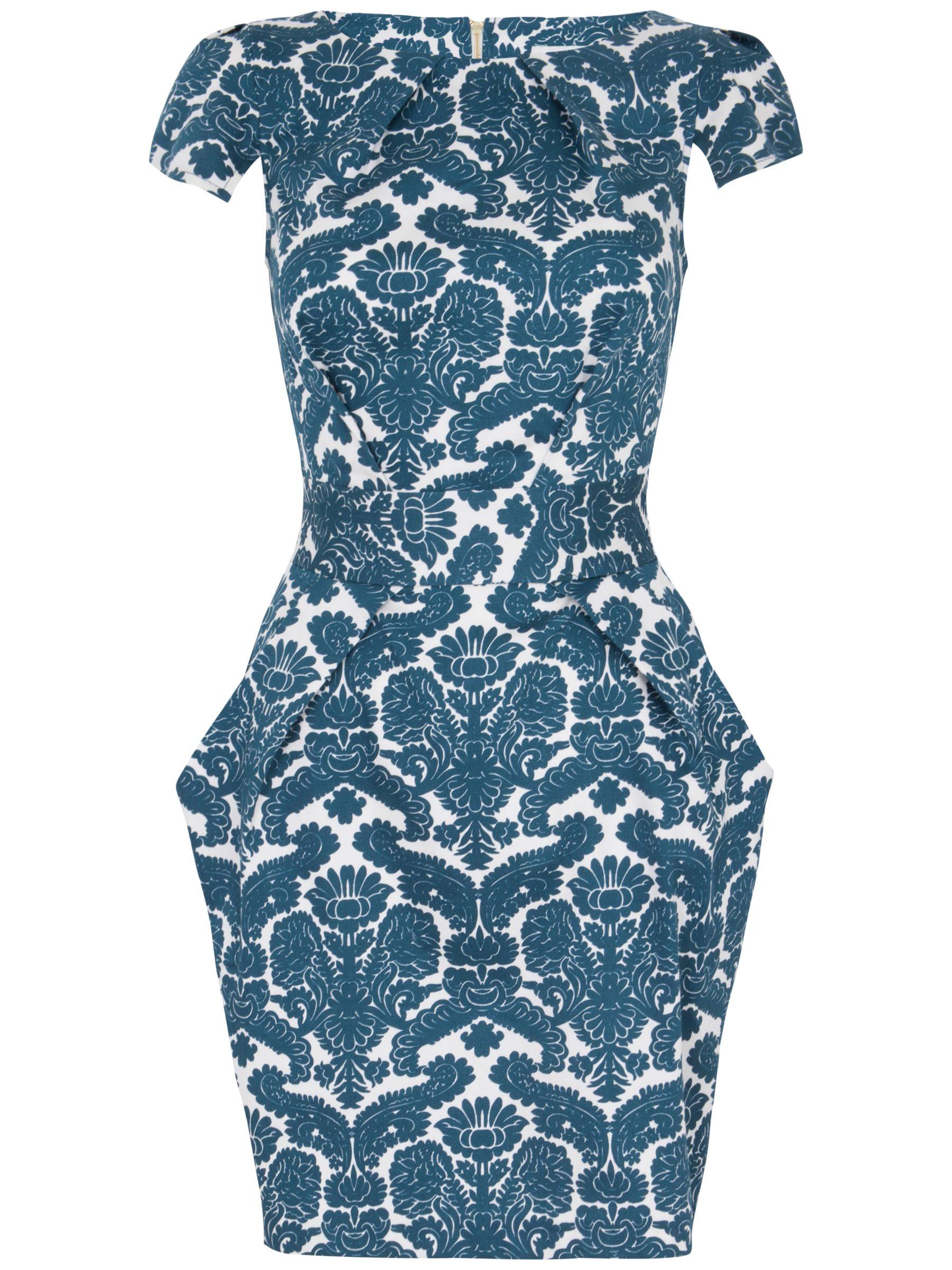 closet wallpaper print tie back dress teal, closet, wallpaper, print, tie, back, dress, teal, 10 8 14 16 12, women, womens dresses, 1669078
