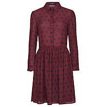 Buy Sugarhill Boutique Love Dress, Wine/Black Online at johnlewis.com