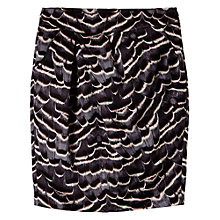 Buy Gérard Darel Abstract Print Skirt, Grey Online at johnlewis.com
