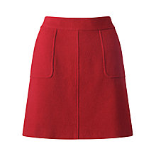 Buy Jigsaw Soft Tweed A-Line Mini Skirt Online at johnlewis.com