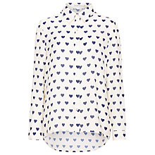 Buy Sugarhill Boutique Love Blouse, Cream/Navy Online at johnlewis.com