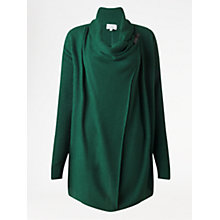 Buy Jigsaw Rice Stitch Tab Drape Cardigan Online at johnlewis.com