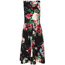 Buy Closet Floral Scuba Midi Dress, Multi Online at johnlewis.com