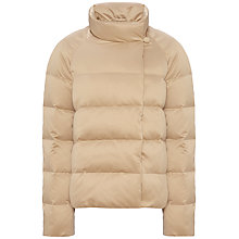 Buy Jaeger Short Stretch Satin Quilted Jacket Online at johnlewis.com