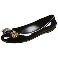 Buy Ted Baker Caelan Bow Detail Jelly Pumps Online at johnlewis.com