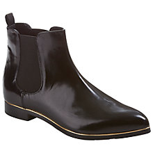 Buy Ted Baker Briennagh Leather High Shine Chelsea Ankle Boot Online at johnlewis.com