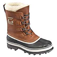 Buy Sorel Caribou Winter Boots, Brown Online at johnlewis.com