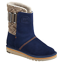Buy Sorel Campus Suede Leather Women's Boots, Blue Online at johnlewis.com