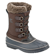 Buy Sorel 1964 PAC Nylon Men's Boots, Brown Online at johnlewis.com