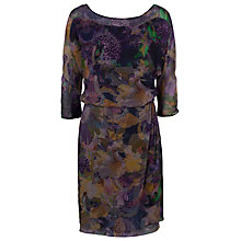Buy French Connection Cherry Orchard Dress, Multi Dark Online at johnlewis.com