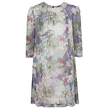 Buy French Connection Cherry Orchard Tunic Dress, Multi Light Online at johnlewis.com