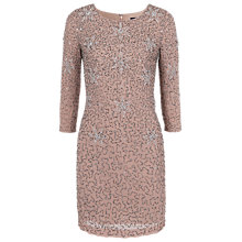 Buy French Connection Angelfire Sparkle Dress, Hazelwood Online at johnlewis.com