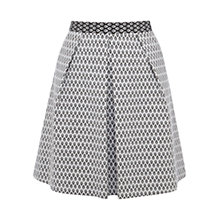 Buy Coast Monochrome Bethy Skirt, Mono Online at johnlewis.com