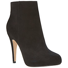 Buy Dune Roxie High Stiletto Heel Ankle Boots, Black Online at johnlewis.com